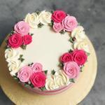 Bánh sinh nhật hoa hồng 3D đẹp xuất sắc dành tặng mẹ và bạn gái ý nghĩa nhất - 10