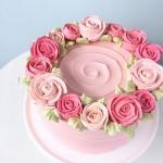 Bánh sinh nhật hoa hồng 3D đẹp xuất sắc dành tặng mẹ và bạn gái ý nghĩa nhất - 15