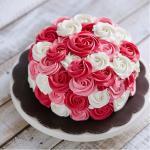 Bánh sinh nhật hoa hồng 3D đẹp xuất sắc dành tặng mẹ và bạn gái ý nghĩa nhất - 17