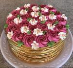 Bánh sinh nhật hoa hồng 3D đẹp xuất sắc dành tặng mẹ và bạn gái ý nghĩa nhất - 18