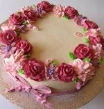 Bánh sinh nhật hoa hồng 3D đẹp xuất sắc dành tặng mẹ và bạn gái ý nghĩa nhất - 20