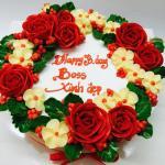 Bánh sinh nhật hoa hồng 3D đẹp xuất sắc dành tặng mẹ và bạn gái ý nghĩa nhất - 21