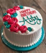Bánh sinh nhật hoa hồng 3D đẹp xuất sắc dành tặng mẹ và bạn gái ý nghĩa nhất - 4