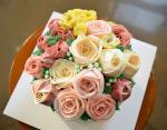 Bánh sinh nhật hoa hồng 3D đẹp xuất sắc dành tặng mẹ và bạn gái ý nghĩa nhất - 2