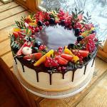 Bánh sinh nhật trái cây đẹp độc đáo nhất - 22