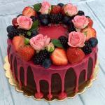 Bánh sinh nhật trái cây đẹp độc đáo nhất- 6