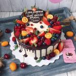 Bánh sinh nhật trái cây đẹp độc đáo nhất - 14