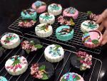 Bánh Trung thu 3D hoa nổi đẹp lung linh không thể bỏ lỡ - 7