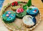 Bánh Trung thu 3D hoa nổi đẹp lung linh không thể bỏ lỡ - 8