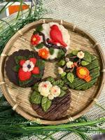 Bánh Trung thu 3D hoa nổi đẹp lung linh không thể bỏ lỡ - 16
