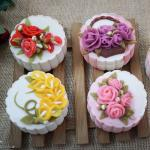 Bánh Trung thu 3D hoa nổi đẹp lung linh không thể bỏ lỡ - 14
