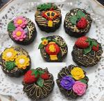 Bánh Trung thu 3D hoa nổi đẹp lung linh không thể bỏ lỡ - 5