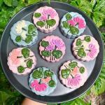 Bánh Trung thu 3D hoa nổi đẹp lung linh không thể bỏ lỡ - 3