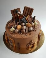 Bánh sinh nhật Socola ngọt ngào, quyến rũ nhất - 15
