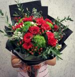 Bó hoa hồng đỏ đẹp nhất 2019 - Món quà lãng mạn gửi đến người yêu thương - 14