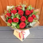 Bó hoa hồng đỏ đẹp nhất 2019 - Món quà lãng mạn gửi đến người yêu thương - 12
