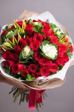 Bó hoa hồng đỏ đẹp nhất 2019 - Món quà lãng mạn gửi đến người yêu thương - 7
