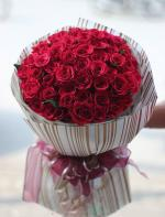Bó hoa hồng đỏ đẹp nhất 2019 - Món quà lãng mạn gửi đến người yêu thương - 21