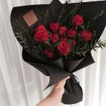 Bó hoa hồng đỏ đẹp nhất 2019 - Món quà lãng mạn gửi đến người yêu thương - 8