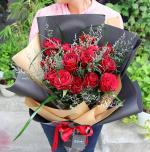 Bó hoa hồng đỏ đẹp nhất 2019 - Món quà lãng mạn gửi đến người yêu thương - 16