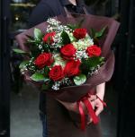 Bó hoa hồng đỏ đẹp nhất 2019 - Món quà lãng mạn gửi đến người yêu thương - 15