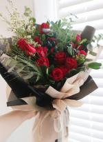 Bó hoa hồng đỏ đẹp nhất 2019 - Món quà lãng mạn gửi đến người yêu thương - 1