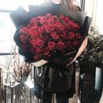 Bó hoa hồng đỏ đẹp nhất 2019 - Món quà lãng mạn gửi đến người yêu thương - 3