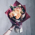Tuyển chọn những bó hoa hồng xinh đẹp sang trọng bậc nhất - Vẻ đẹp đến từ sự tinh tế - 15
