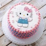 Hình ảnh bánh sinh nhật hình chú mèo Hello Kitty đẹp nhất 2018 - 12