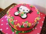 Hình ảnh bánh sinh nhật hình chú mèo Hello Kitty đẹp nhất 2018 - 4