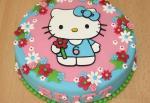Hình ảnh bánh sinh nhật hình chú mèo Hello Kitty đẹp nhất 2018 - 19