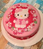 Hình ảnh bánh sinh nhật hình chú mèo Hello Kitty đẹp nhất 2018 - 18