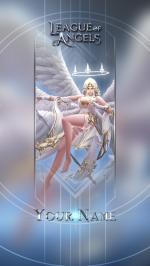 Hình nền điện thoại game League of Angels - Athena