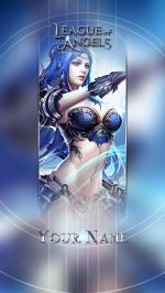 Hình nền điện thoại game League of Angels - Aurora