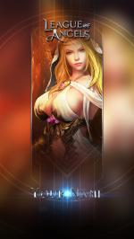 Hình nền điện thoại game League of Angels - Isabel