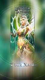 Hình nền điện thoại game League of Angels - Isha