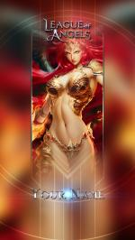 Hình nền điện thoại game League of Angels - Mikaela