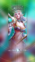 Hình nền điện thoại game League of Angels - Thera
