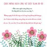 Những thiết kế thiệp hoa mừng ngày 20-10 kèm lời chúc ý nghĩa đến cô giáo- những người thầy, người mẹ kính yêu !