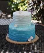 Hình ảnh những mẫu bánh sinh nhật màu xanh, xanh dương, xanh ngọc đẹp nhất- 8