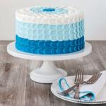 Hình ảnh những mẫu bánh sinh nhật màu xanh, xanh dương, xanh ngọc đẹp nhất- 7