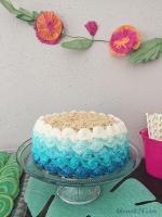 Hình ảnh những mẫu bánh sinh nhật màu xanh, xanh dương, xanh ngọc đẹp nhất- 5