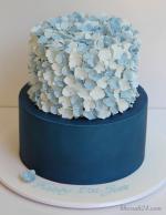 Hình ảnh những mẫu bánh sinh nhật màu xanh, xanh dương, xanh ngọc đẹp nhất - 1