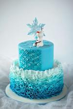 Hình ảnh những mẫu bánh sinh nhật màu xanh, xanh dương, xanh ngọc đẹp nhất- 18