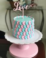 Top 18 mẫu bánh sinh nhật cỡ nhỏ, bánh kem 1 tầng đẹp dễ thương nhất - 2