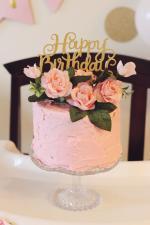 Top 18 mẫu bánh sinh nhật cỡ nhỏ, bánh kem 1 tầng đẹp dễ thương nhất - 15