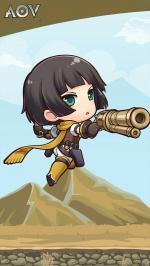Hình nền tướng liên quân Violet chibi dễ thương cho điện thoại