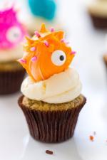 Ý tưởng trang trí bánh cupcake halloween mới lạ