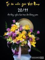 Top hình ảnh 20/11 ý nghĩa, ảnh thiệp chúc mừng 20/11 đẹp nhất 2018 - 3