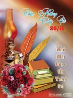 Top hình ảnh 20/11 ý nghĩa, ảnh thiệp chúc mừng 20/11 đẹp nhất 2018 - 8